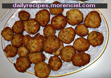 Arancini (rice and meat balls stuffed)