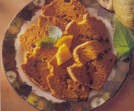 Pumpkin Cake, Orange Glazed