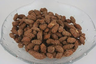 Christmas Candied Almonds